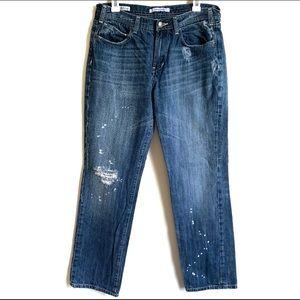 Vigoss Size 30 9 10 Blue Jeans The Ritz Boyfriend